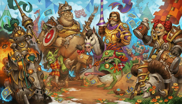 Hearthstone'a The Grand Tournament Ek Paketi Geliyor!