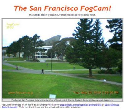 The San Francisco Fogcam!