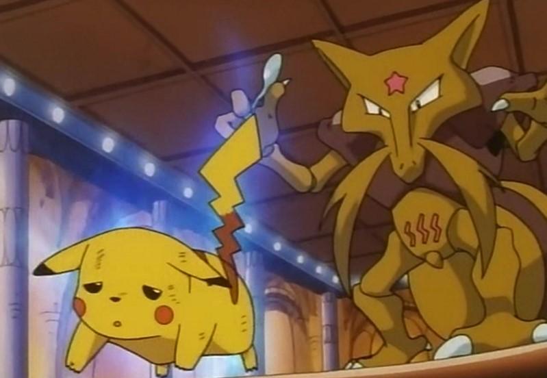 Dizide Pikachu'yu fena tokatlamış, pisişik güçlere sahip bu bıyıklı?
