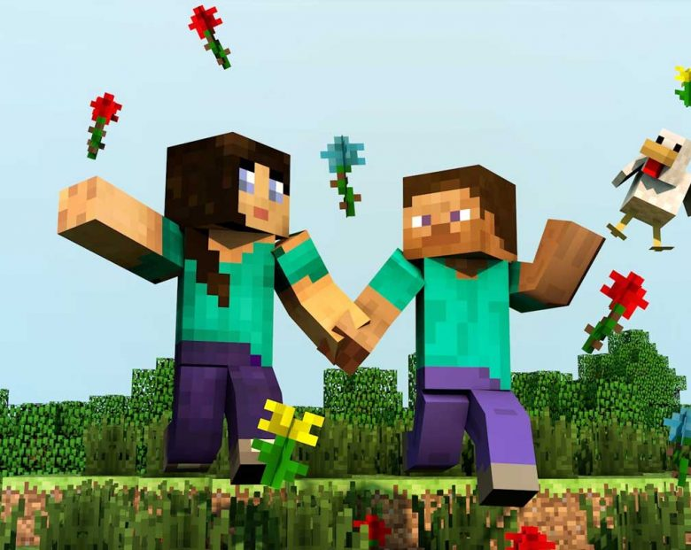 minecraft-couple